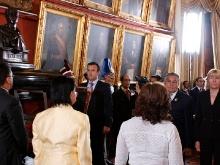 Apertura del arca contentiva del Acta de Independencia