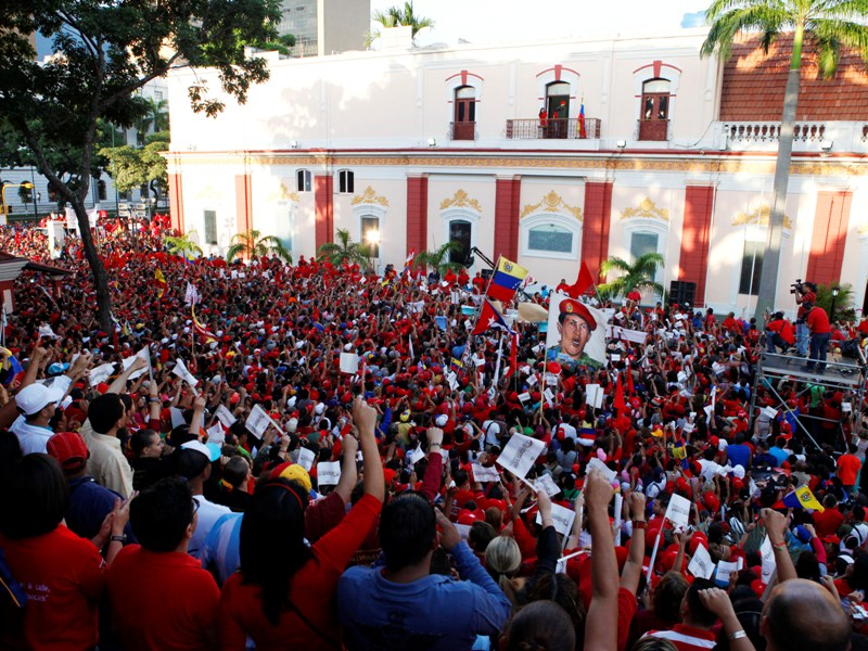 El presidente Hugo Chávez lucha por su vida en La Habana Balcon-del-pueblo-22