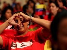 Encuentro del Comandante Chávez con mujeres de la Patria