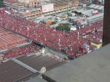Cierre de campaña desbordó 7 Avenidas de Caraca