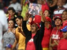 Acto de Solidaridad con la Revolucion Bolivariana