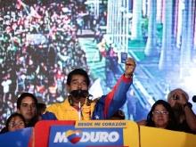 Nicolás Maduro el 14 de abril, victorioso junto al pueblo