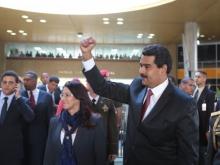 Nicolás Maduro en CNE el 15 de abril
