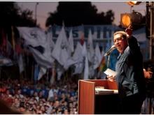 Presidente Chávez en Argentina