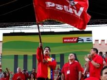 Presidente del PSUV, Nicolas Maduro