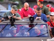 Recorrido del Comandante Chávez por sector Blandin, carretera vieja Caracas La Guaira