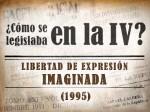Libertad de Expresión Imaginada