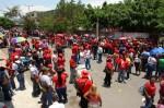 Militantes de Aragua participaron en el simulacro nacional de votación el domingo 22 de agosto.