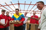 Hugo Chávez, inauguró la Fábrica Socialista de Construcción de Tubos Kariña