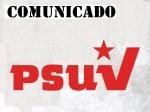Comunicado PSUV