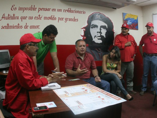 Diosdado Cabello se reúne con las comunidades organizadas