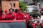 Caravana del PSUV en Miranda