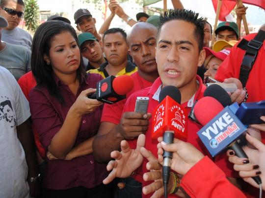Robert Serra es candidato del circuito 2 de Caracas por el PSUV