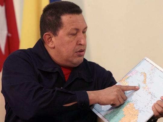 Comandante Hugo Chávez en Cuba