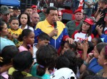 El comandante Chávez conmemora en Los Próceres los 17 años de su salida de la cárcel de Yare. Foto: AVN