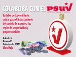 Cotizaciones PSUV