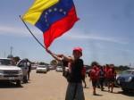 Caravana Antiimperialista realizada en Margarita