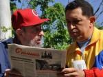 Hugo Chávez y Fidel Castro. Foto: Cubate