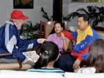 Reunión Chávez - Castro