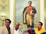 El presidente Hugo Chávez vive la pasión que ha despertado la Vinotinto en todo el país