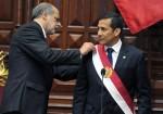 Ollanta Humala toma posesión como presidente de Perú. Foto: AFP