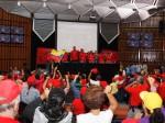 Dirigencia y militancia del PSUV condenaron injerencia del PP español. Foto: AVN