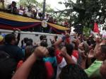 La JPSUV celebró su tercer aniversario en la Plaza Bolívar de Caracas. Foto: AVN