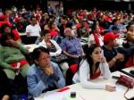 Alistadores del PSUV en asamblea con la dirigencia del partido. Foto: AVN