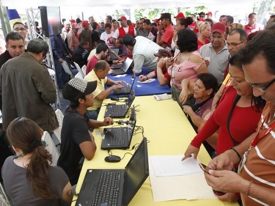 En Apure, Guárico, Cojedes, Portuguesa y Barinas se llevará a cabo el registro