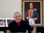 Comandante Hugo Chávez, presidente del PSUV. Foto: Archivo