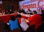 Chávez se reunió con el equipo promotor del GPP. Foto: GPP