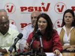 Flores fue la Primera Vicepresidenta del PSUV