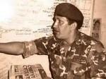El Teniente Coronel Hugo Chávez en el año 1992