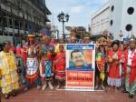 En Surinam los Pueblos indígenas manifestaron su apoyo al Comandante Chávez