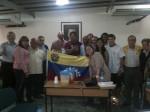 Familiares de Rubén Limardo visitaron la casa nacional del PSUV