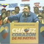 """Chávez: """"Tenemos que incrementar la fuerza popular en la calle, la organización, la consciencia de lo que está en juego"""""""