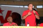 Diosdado Cabello se reunió con las bases revolucionarias del estado Anzoátegui.