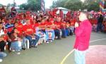 Acto de entrega de mil 370 reconocimientos a integrantes de 22 bases de patrullas de la parroquia Manuel Dagnino de Maracaibo.