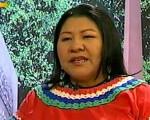 Nicia Maldonado, candidata a la gobernación del estado Amazonas.