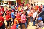 Santaella recorre las comunidades que nunca han sido atendidas por la gobernación