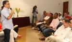 Trabajadores turísticos de Miranda entregaron proyectos a candidato Jaua