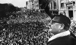 Salvador Allende, presidente socialista de Chile.