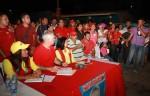 Mata Figueroa en asamblea con pescadores de Nueva Esparta / Foto: CCC Nueva Esparta.
