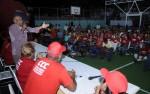 Aristóbulo Istúriz en asamblea popular en el sector La Bomba del municipio Guanta.