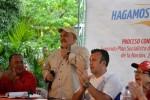 La diputada y los diputados de la Asamblea Nacional, María León, Elvis Amoroso y Dario Vivas estuvieron presentes en la actividad.