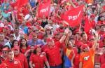 Carlos Mata Figueroa inicia campaña electoral en Nueva Esparta.