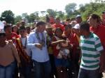 El Candidato a la Gobernación del estado Zulia, por el PSUV, recorrió comunidad indígena Yukpa Maregua.