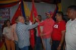 Abanderados responsables de los municipios Roscio, Mellado y Ortiz / Foto: Prensa CCC Guárico.