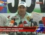 Partido Joven apoya al candidato Elías Jaua