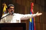 Vicepresidente Nicolás Maduro durante la juramentación de la gobernadora Stella Lugo
